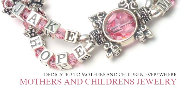 Mother S And Childrens Name Bracelets Ek Designs Jewelry